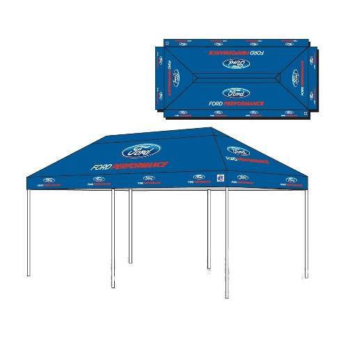 Ford Performance EZ Up Tent, 10x20