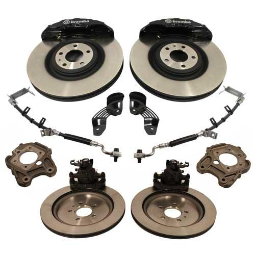 "Ford Performance Mustang GT500 Brake Kit -  6 Piston - 15"" (05-14) M-2300-T"