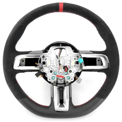 Ford Performance Mustang Shelby GT350R Steering Wheel & Shift Boot Kit  - w/o SYNC (15-17)