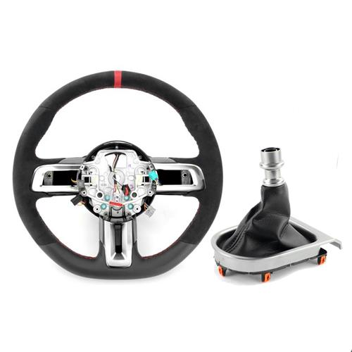 Ford Performance Mustang Shelby GT350R Steering Wheel & Shift Boot Kit  - w/ SYNC (15-17)