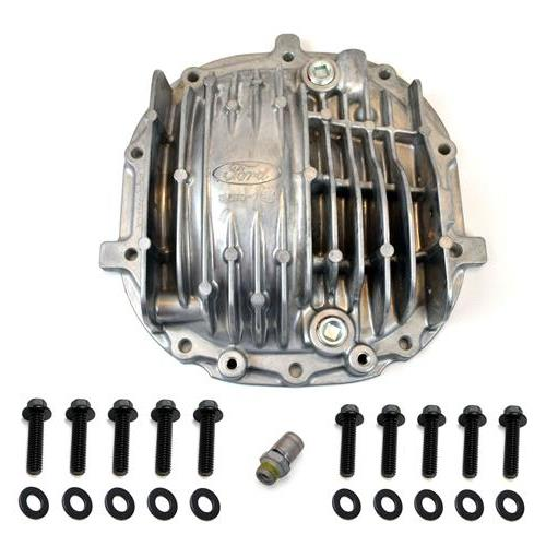 Mustang GT500 Finned Aluminum Differential Cover (05-14) 8.8""