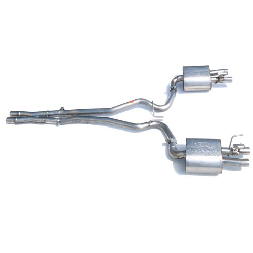 Ford Performance Mustang GT350 Style Active Exhaust Conversion Kit (15-17) GT M-5200-M8