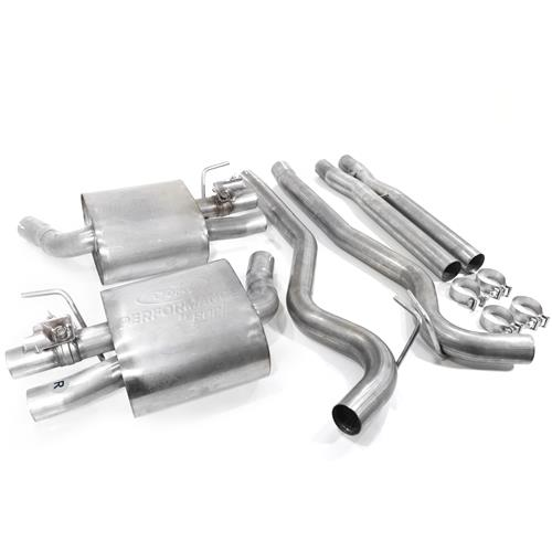 Ford Performance Mustang GT350 Active Sport Cat Back Exhaust System (16-17) M-5200-MSS