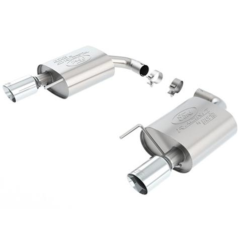 Ford Racing Mustang Touring Axle-Back Exhaust Kit w/ Chrome Tips (2015) Ecoboost 2.3 M5230M4TC