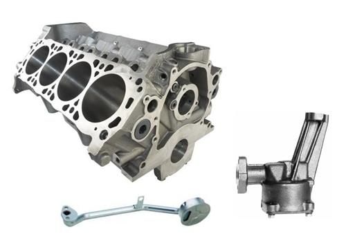 Picture of Ford Racing Mustang 5.0L Boss 302 Engine Block Kit (79-95)