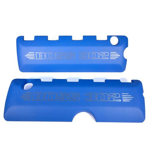 Ford Performance Mustang Boss 302 Coil Covers  - Blue (11-17) M-6067-50B302