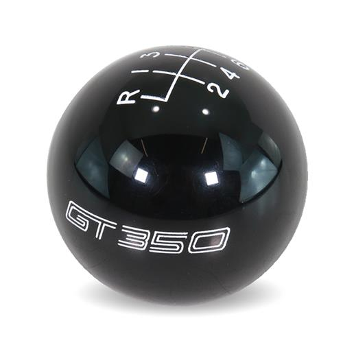 Ford Performance Mustang GT350 Shift Knob  - Black (15-17) M-7213-M8SB