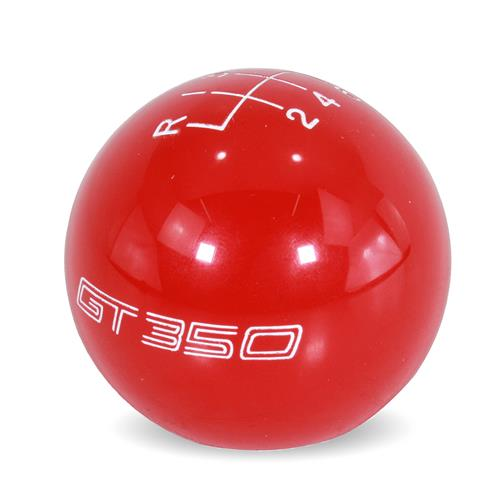 Ford Performance Mustang GT350 Shift Knob  - Red (15-17) M-7213-M8SR