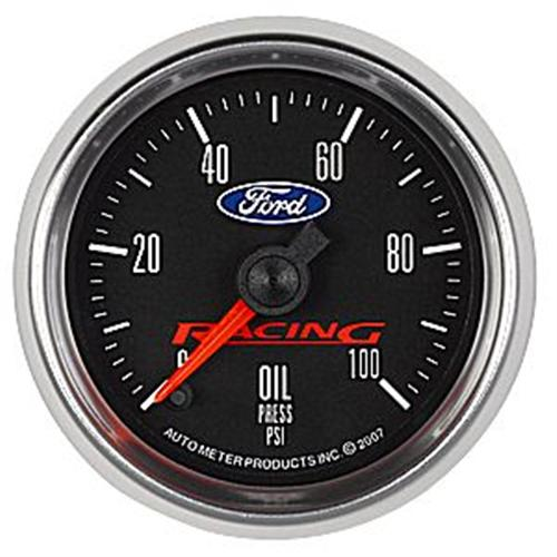 "Ford Racing Mustang Oil Pressure Gauge - 2 1/16""  M-9278-BFSE"