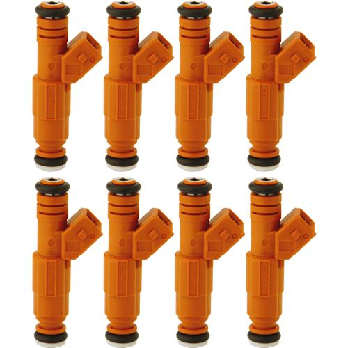 FORD RACING MUSTANG 30LB FUEL INJECTORS, SET OF 8 EV6 BODY WITH JETRONIC CONNECTOR, M-9593-BB302