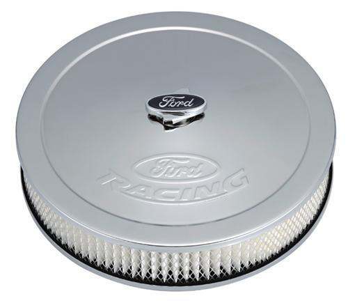 "Ford Racing Mustang 13"" Chrome Air Cleaner Kit (79-85) M-9600-A302"