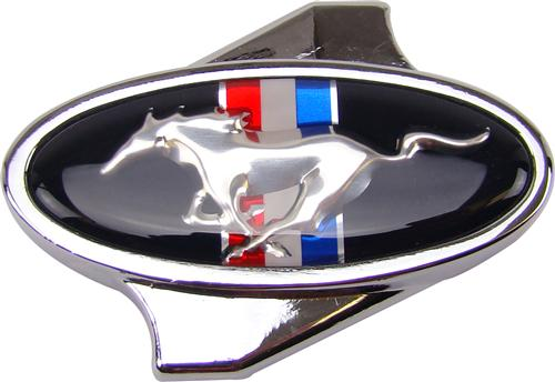 Mustang Running Pony Chrome Air Cleaner Wing Nut M-9697-C