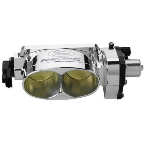 Ford Racing Mustang Twin 62mm Throttle Body Polished (05-10) GT 4.6L 3V M-9926-3V