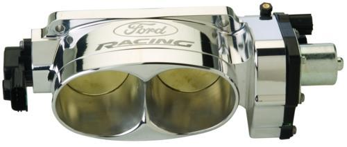 Ford Racing Mustang Cobra Jet Throttle Body Polished (07-12) GT500 Twin 65MM 5.4L M-9926-CJ65