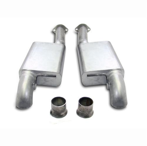 "86-98 MUSTANG 3"" MAC PERFORMANCE PRO DUMP EXHAUST SYSTEM"