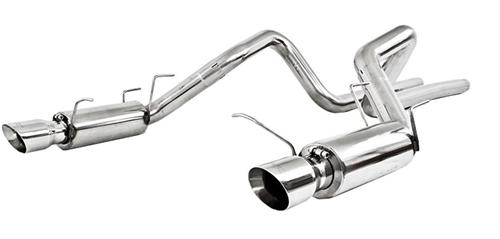 "MBRP Mustang 3"" Race Catback 409 Stainless Stainless (11-14) GT 5.0 S7264409"