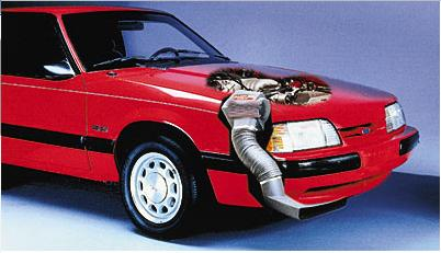 March Mustang Ram Air Kit (86-93)