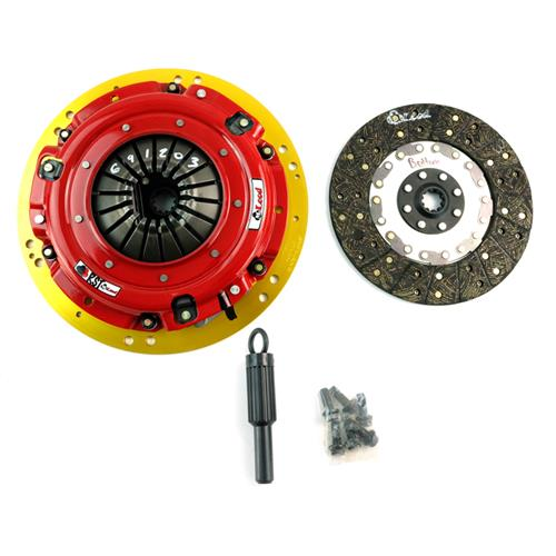 "McLeod Mustang 11"" RST Street Twin Clutch Kit 10 Spline (01-04) 6912-03"