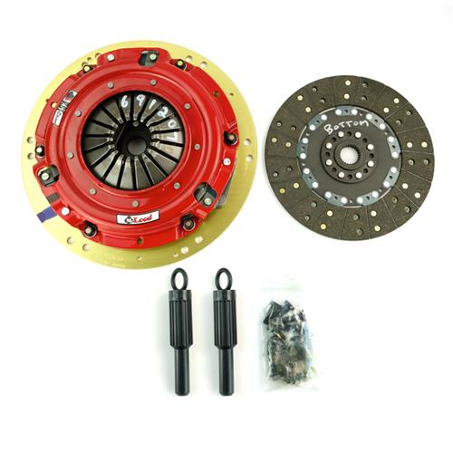 "McLeod Mustang 11"" RST Twin Disc Clutch Kit 26 Spline (01-10) 6912-07"