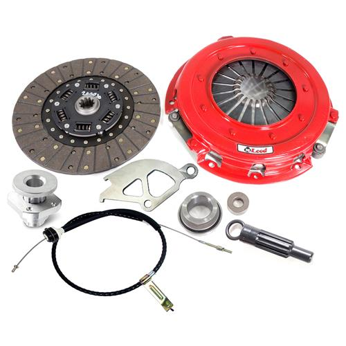 "McLeod Mustang Street Level Clutch & Cable Kit - 10.5"" - 10 Spline (86-01) 4.6 5.0"