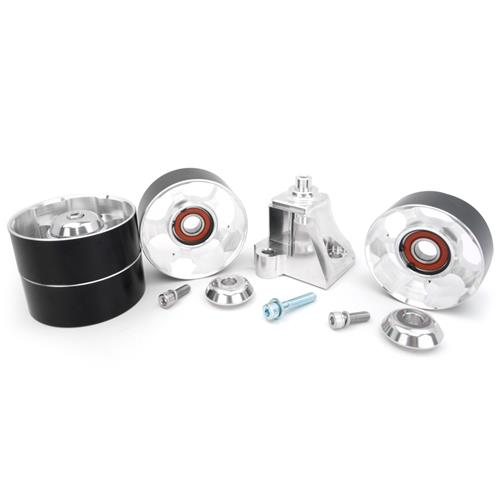 Metco Cobra 5 Piece Auxiliary Idler Kit - Double Bearing Pullies (03-04)