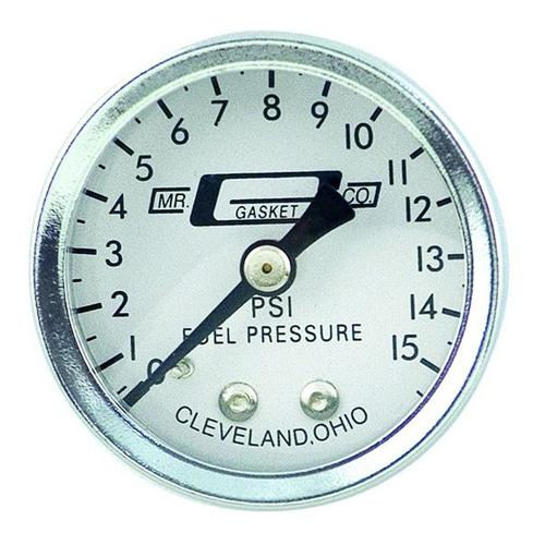 Carbureted Fuel Pressure Gauge