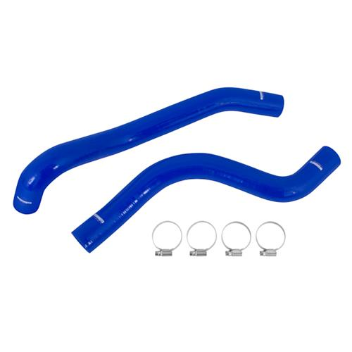 2015-2016 Mustang EcoBoost Mishimoto Blue Silicone Radiator Hose Kit  - 2015-2016 Mustang EcoBoost Mishimoto Blue Silicone Radiator Hose Kit