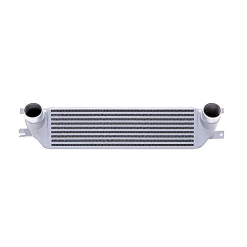 2015-2016 Mustang Mishimoto Silver Intercooler Kit W/ Black Pipes