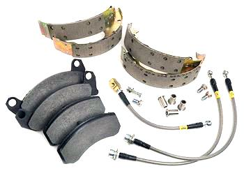 Maximum Motorsports  Mustang Brake Upgrade Package (87-93)