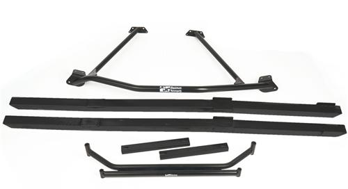 Mustang Chassis Brace Package Black (86-93) Coupe/Hatchback MMCBP8