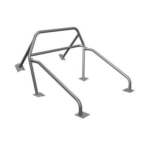 Maximum Motorsports  Mustang Nhra 6 Point Rollbar w/ Swing-Out Door Bars And Welded Braces (94-04) MMRB-7