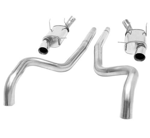 "Picture of Magnaflow Mustang 2.5"" Street Cat Back Exhaust System (11-14) V6 3.7L 15591"