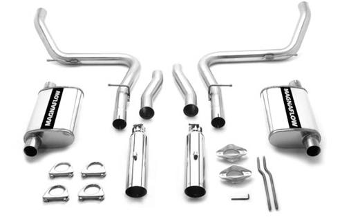 Magnaflow Mustang IRS Cat Back Exhaust System Stainless Steel (99-04) Cobra 15644