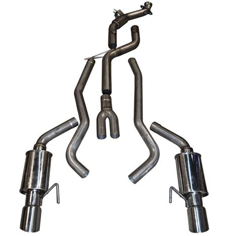 MRT Mustang Complete Exhaust System 200 Cell (2015) Ecoboost 2.3
