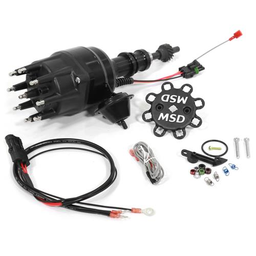 MSD Mustang 289/302 Ready-To-Run Distributor - Black (79-86) 83523