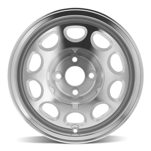Mustang 10-Hole Wheel & Tire Kit 15x7/9  - M/T Sportsman - Nitto NT555R (79-93)