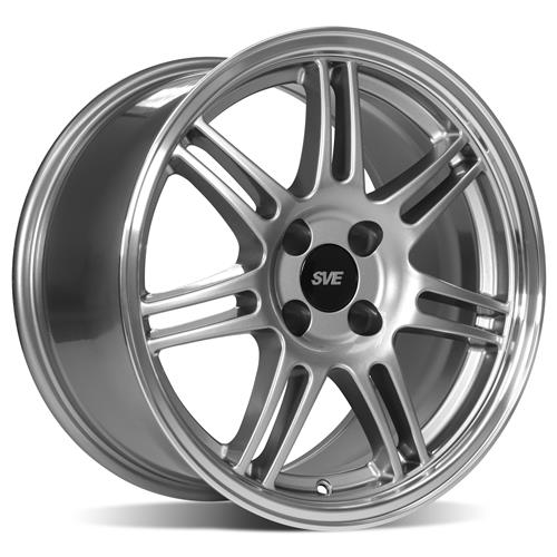 Mustang Anniversary Wheel & Tire Kit - 17x9  - Anthracite - NT555 G2 Tires (79-93)