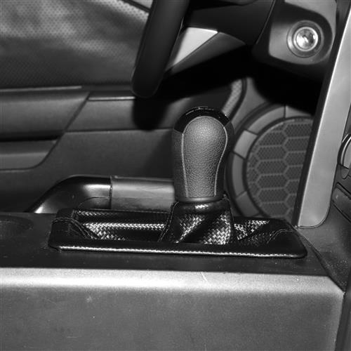 Mustang Carbon Fiber Pattern Shift Boot (05-09) 5R3Z-7277-CF