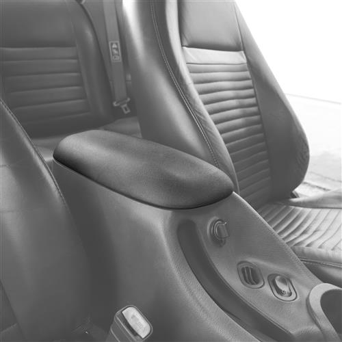 Mustang Center Console Armrest Pad  - Charcoal (94-04) F4ZZ-6306024-C