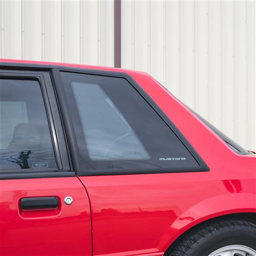 Mustang Coupe Quarter Windows (87-93)