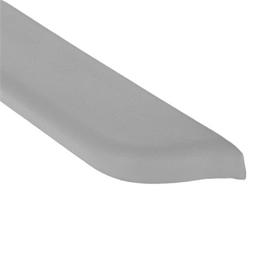 Mustang Door Armrest Pad for Power Windows, RH Light Gray (87-93)