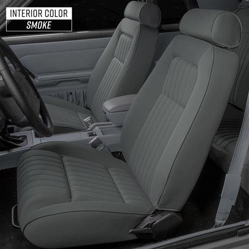 Mustang Factory Style Gray Cloth Sport Seats (79-93)