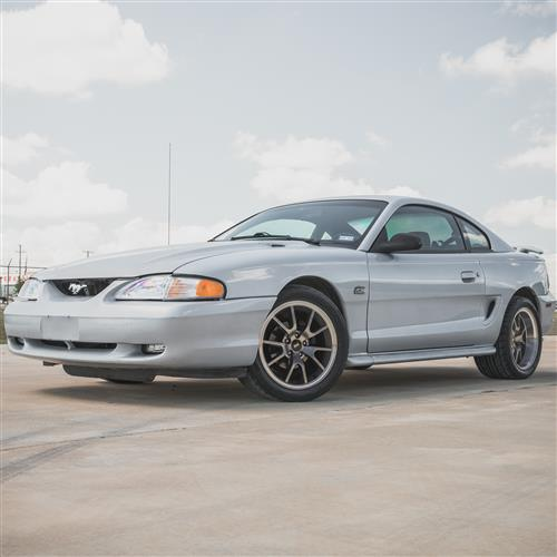 Mustang FR500 Wheel - 17X9  - Anthracite (94-04)