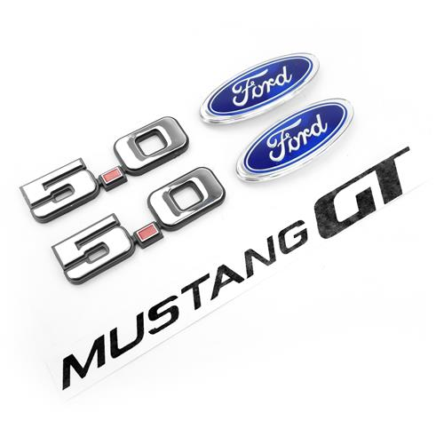 Mustang Gt Emblem Decal Kit 85 86 Lmr Com
