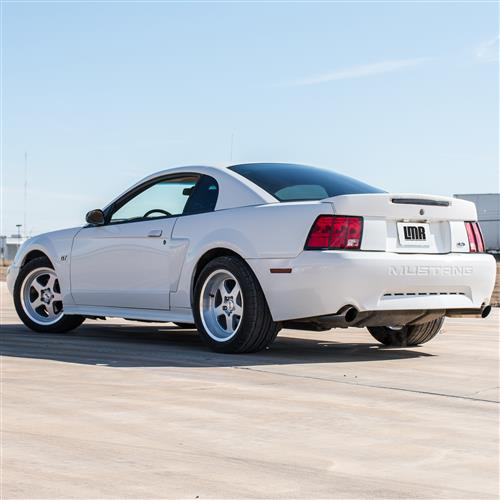 Mustang SC Staggered Wheel & Tire Kit - 17x9/10 Silver (94-04) Nitto G2