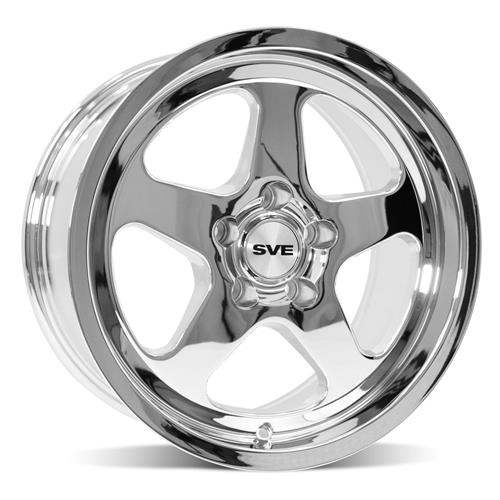 Mustang SC Wheel & Tire Kit - 17x9/10  - Chrome - NT555 G2 (94-04)