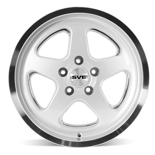 Mustang SC Wheel & Tire Kit - 17x9 Silver (94-04) Nitto G2