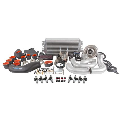 Vortech V3 Supercharger Intercooler: Mustang Vortech V3 Supercharger & ID1050X Injector Kit (15
