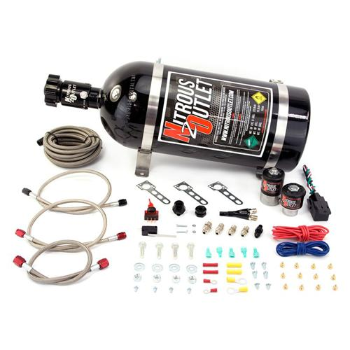 Nitrous Outlet Mustang Single Nozzle Kit (86-98) 5.0 5.8 4.6 00-10010