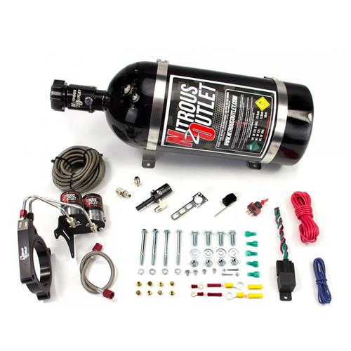 Nitrous Outlet Mustang Nitrous Kit - Plate Hardline System (11-14) 5.0 - Nitrous Outlet Mustang Nitrous Kit - Plate Hardline System (11-14) 5.0